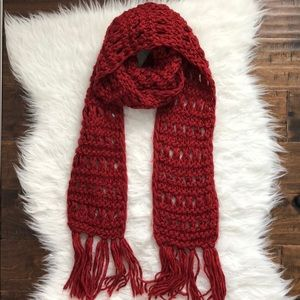 F21 Knitted Scarf